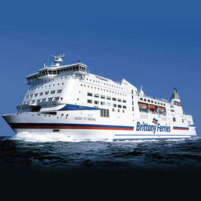 image of a Brittany Ferries ship