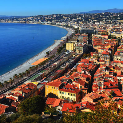 image of Nice, on the French Riviera