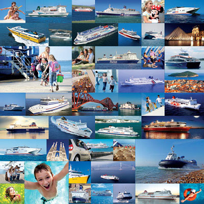 image of the huge range of ferry companies available on Cheap 4 Ferries